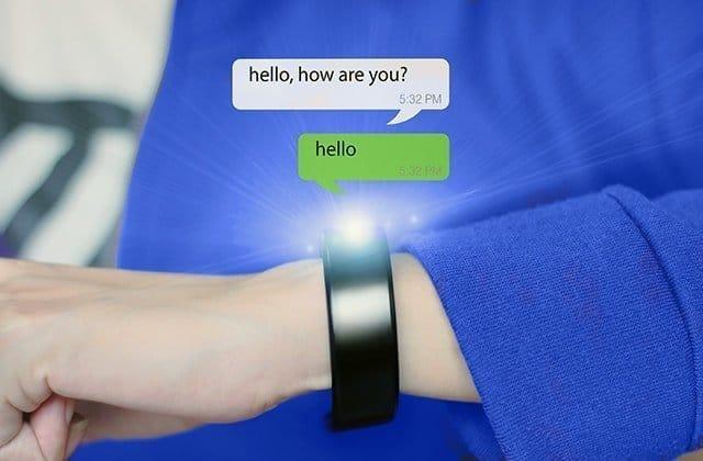 Chatten met smartwatch