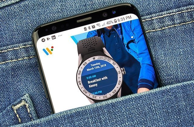 afbeelding over wear os