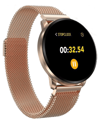 Luxe smartwatch gold