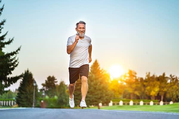 Positief effect hardlopen